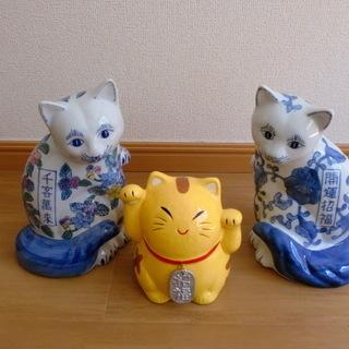 福ネコ 3匹