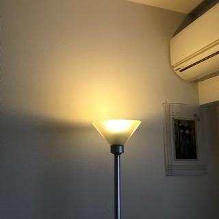 ダイヤルで明るさ調光できるスタンドライトです − 愛知県