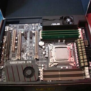 商談中 ジャンク core i7 3960x +マザーボード+簡...