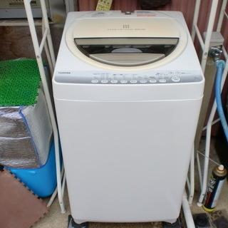 2014年東芝 6K洗濯機 メンテ済み中古