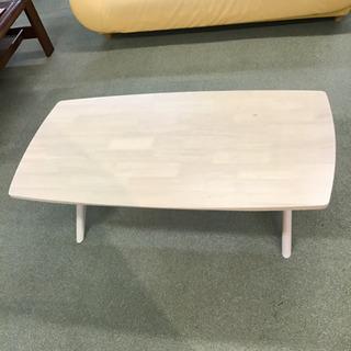 センターテーブル ラバーウッド ホワイト