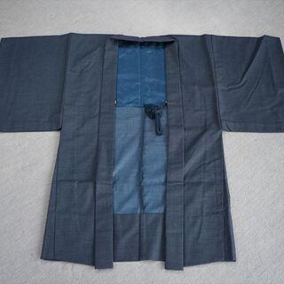 男性 羽織 ウール 着物