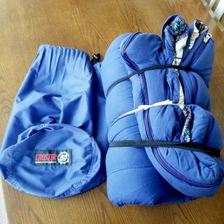 【札幌市内配送可能】寝袋 シュラフ CROSTER キャン…