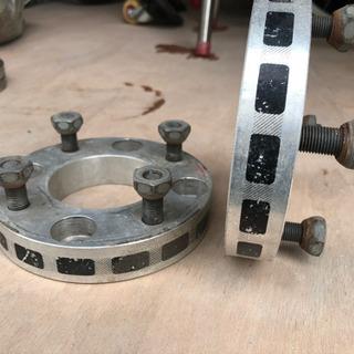 ワイドトレッドスペーサー 4穴114.3 25mm 2個