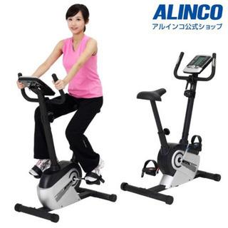 美品 ALINCO アルインコ  エアロマグネティックバイク