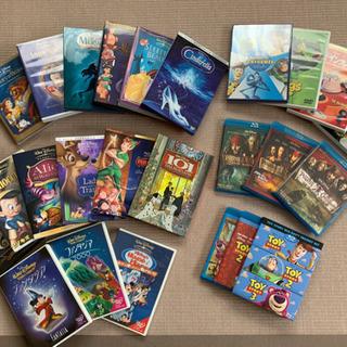 【最終値下げ】ディズニー26タイトル DVD,ブルーレイセ…
