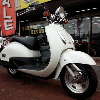 NO.3352 ジョーカー50 2サイクルエンジン ホワイト ☆彡