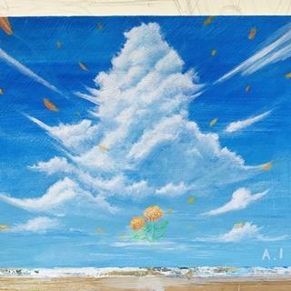 デッサン•アクリル絵画教室始めます!まずは無料体験からいかがですか?