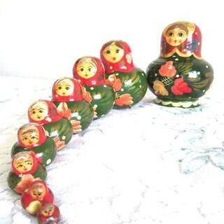 ロシア人形⑩体セット