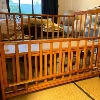 ヤトミ中古ベビーベッド120×70cm