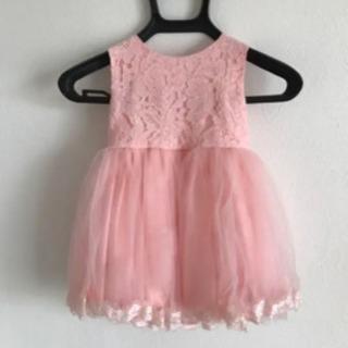 ベビードレス ワンピース 90cm ドレス フォーマル 美品