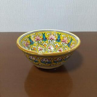 ~美品·未使用~ウズベキスタン陶器  ギジュドゥバン焼の食器
