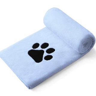 新品未使用 ペット 犬 ペット用タオル 超吸水 厚手 マイクロフ...