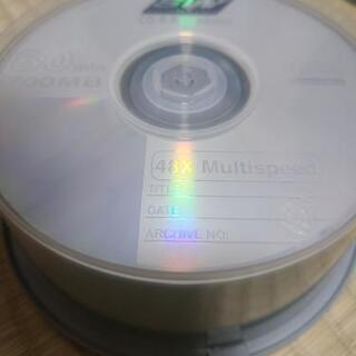 開封済み未使用のCD-R35枚