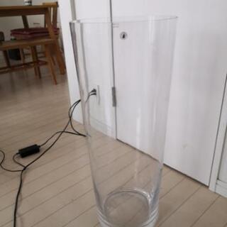 ガラス花瓶 大