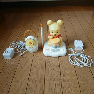 ディズニー〈ベビープー〉赤ちゃんモニター