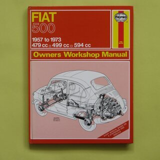 HAYNES FIAT 500 Owners Work Shop...