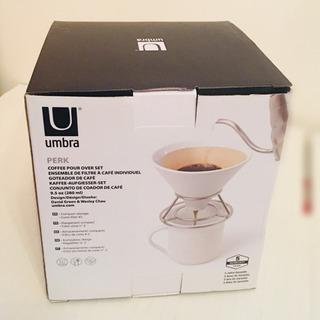 新品 未使用 umbra PERK coffee pour ov...