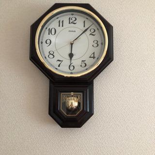 アンティーク調振り子掛け時計