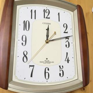 電波時計 時報 メロディ 鐘