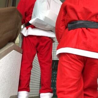 今年の冬、サンタクロースで子どもたちを笑顔にします!