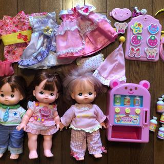 【値下げ中】メルちゃん お人形3体、自動販売機他