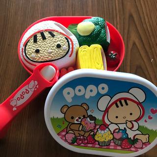 ぽぽちゃん☆お弁当箱+おしゃべりスプーン