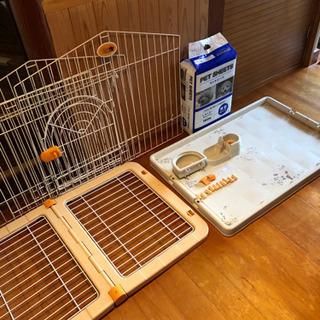 ペットゲージ 犬小屋 ペットシート エサ容器