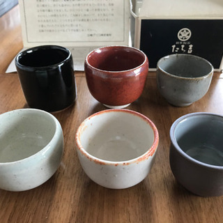 たち吉 全国名陶 ぐい呑揃【江崎グリコ レア品】