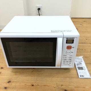 オーブンレンジ シャープ RE-S50B-W  美品