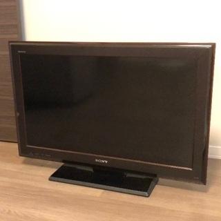 32型テレビ ソニーブラビア KDL-32J5 2009年製 中古