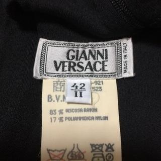 大セール中!Versaceシースルーシャツ