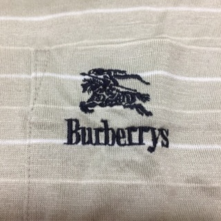 大セール中!Burberry長袖ポロシャツ