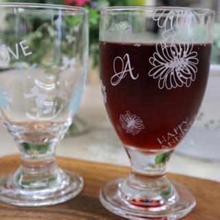 夏にピッタリのグラス
