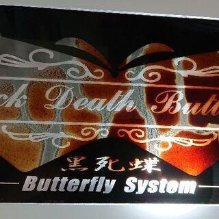 Butterfly System 車用プレート