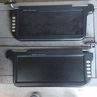 ランクル80用サンバイザーモニター