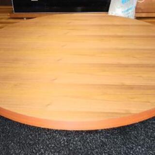特注の大きな円型テーブル製作できます😄