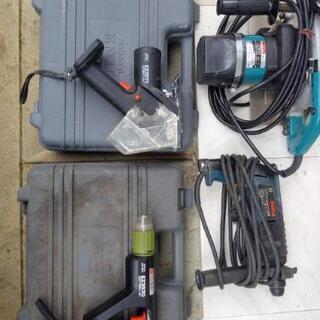 マキタ・日立工機・松下の電動工具7点 実物見てからでOKです