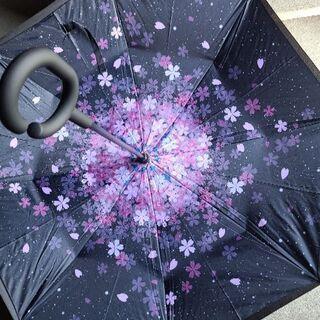 桜模様の綺麗な傘です☂️