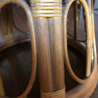 籐の回転する椅子無料でもらって下さい − 京都府