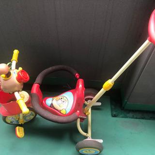 使って頂ける方に無料で!!アンパンマンの三輪車