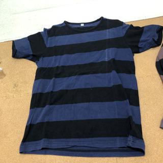ユニクロ ボーダーTシャツ 2枚セット