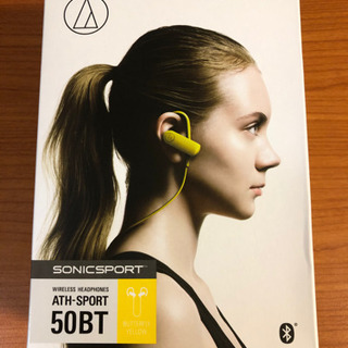 新品 audio-technica sonicsport ワイヤ...