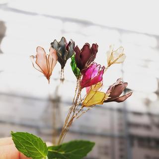 8/20ディップアート教室募集お花の教室
