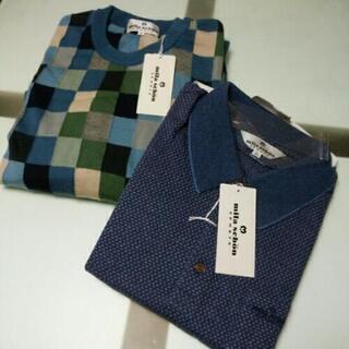 ◆紳士用・新品◆mila schon カットソー&セーター 2枚...