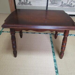 木製ミニ(サイド)テーブル