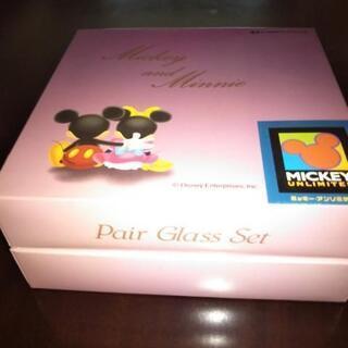 ミッキーとミニーのペアグラス