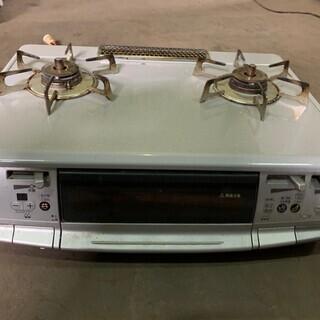 2012年製 リンナイ 2口ガスコンロ RTS-S66VCTS ...