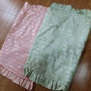 枕カバー 未使用 保管品 一部汚れ有り