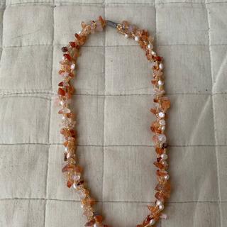天然石?きれいな石のネックレスです!